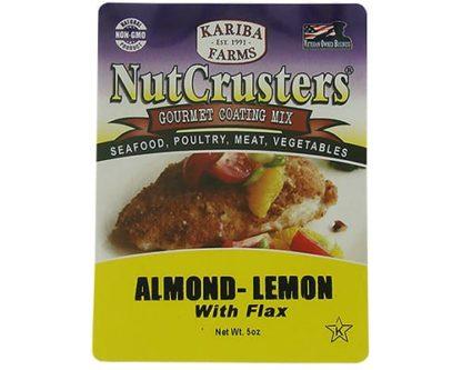 NutCrusters Almond Lemon with Flax