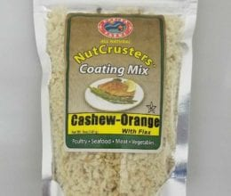 NutCrusters Cashew Orange with Flax