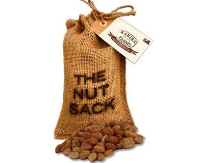 Honey Roasted Peanuts Nut Sack Gift Bag