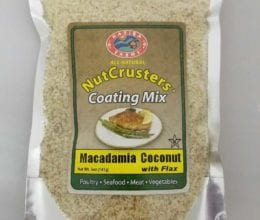 NutCrusters Macadamia Coconut with Panko and Flax