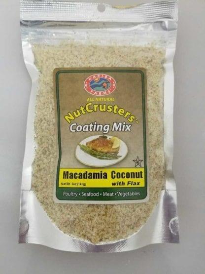 NutCrusters Macadamia Coconut with Panko and Flax