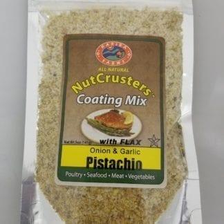 NutCrusters Pistachio Onion Garlic Panko and Flax