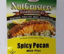 NutCrusters Spicy Pecan Panko with Flax