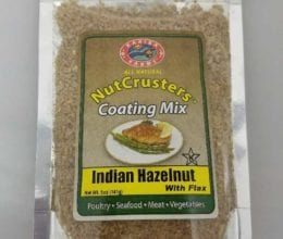 Nutcrusters Indian Hazelnut with Flax