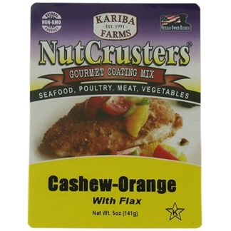 Cashew-Orange with Flax Gourmet Coating