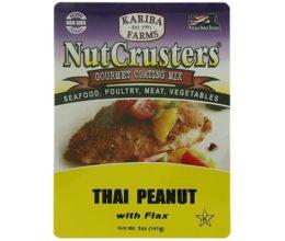 Thai Peanut NutCrusters with Flax