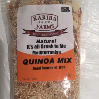 Quinoa Mix - It's All Greek to Me