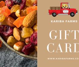 Kariba Gift Card